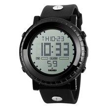 Nuevos Deportes Reloj de Los Hombres LED Digital Impermeable Retroiluminación Función Crono Alarma Reloj SKMEI Hombres de Moda Relogio masculino