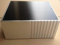 Nobsound Multi function CNC full aluminum chassis Integrated power amplifier/Mains case 300mm*135mm*258 mm