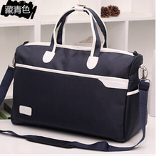 Ali Victory 2017 summer waterproof nylon men's travel totes weekend bag women duffle necessaries carry on luggage items TB124