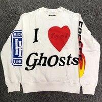 2019 Best Version Kanye West Kids See Ghosts Collection Women Men Sweatshirts Hoodie Hiphop Streetwear Men Sweatshirt Pullover