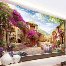 QIANZEHUI,DIY 5D European Dream House Diamond Embroidery,Round Diamond Full rhinestone Diamond painting cross stitch,needlework