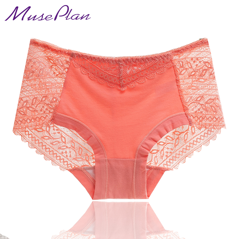 a4a181fb6 Hot sale l women s sexy lace panties seamless cotton breathable panty  Hollow briefs Plus Size girl underwear