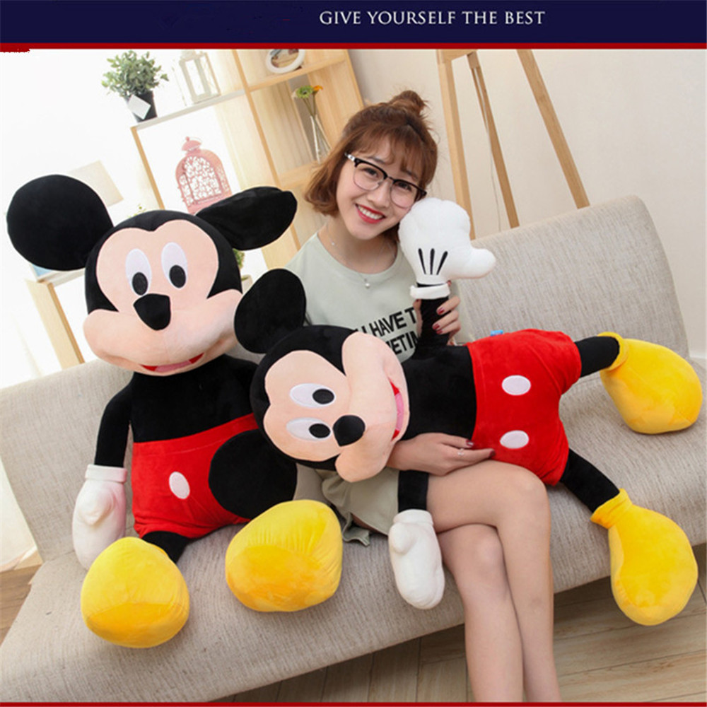 Wedding Gifts For Children: Hot Sale 100cm High Quality Stuffed Mickey&Minnie Mouse