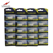 20pcs/4pack Wama 10A 9V L1022 Alkaline Batteries for Garage Doorbell Remote Control Alarm Replace A23L 12V Battery New