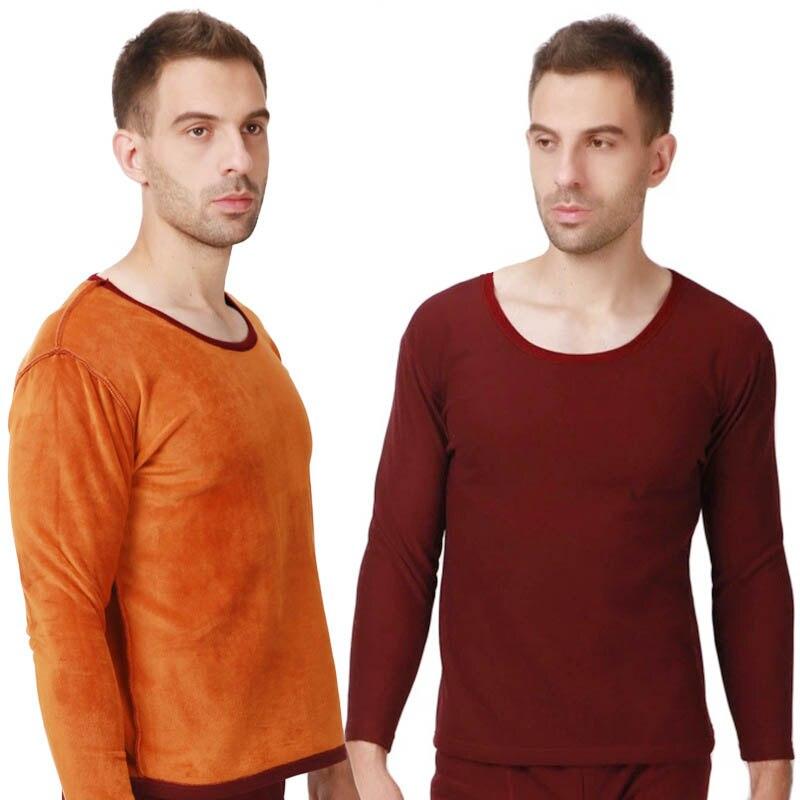 Grande taille 6XL 7XL 8XL 9XL hiver hommes épaissir sous-vêtement thermique hommes longs johns velours doux chaud costumes chemise + pantalon 2 pièces ensemble