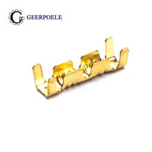 100 dj pçs/lote 453-0.5mm botão de crimpagem, frio, pressionamento, emenda, terminal conector de fio elétrico, luvas, sertiras