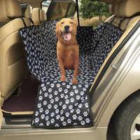 Pet Car Seat Cover Pet Rear Bench Backseat Waterproof Oxford Protector Padded Travel Car Blanket Dog Pet Seat Mat 130*150*55CM