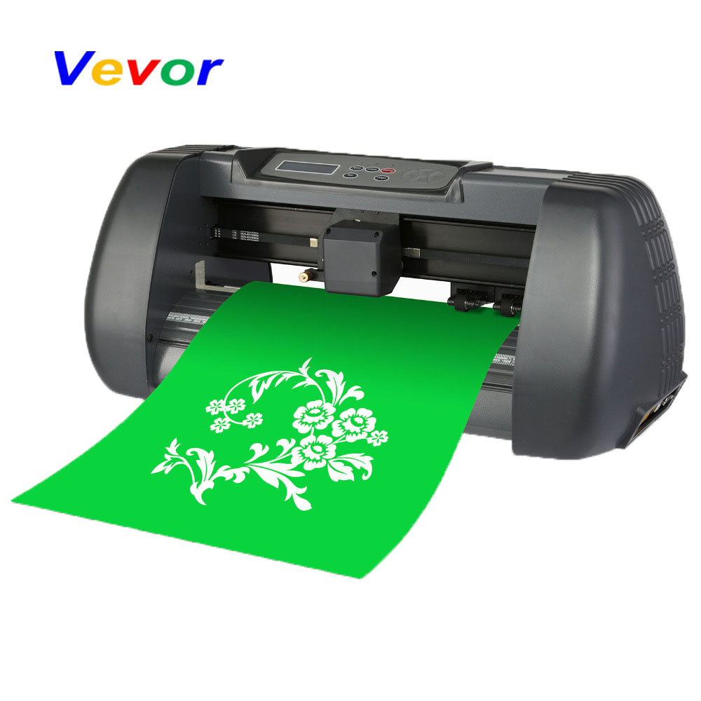 "VEVOR 14"" Vinyl Cutting Plotter DIY Heavy Duty 375mm Cutting PlotterMachine"