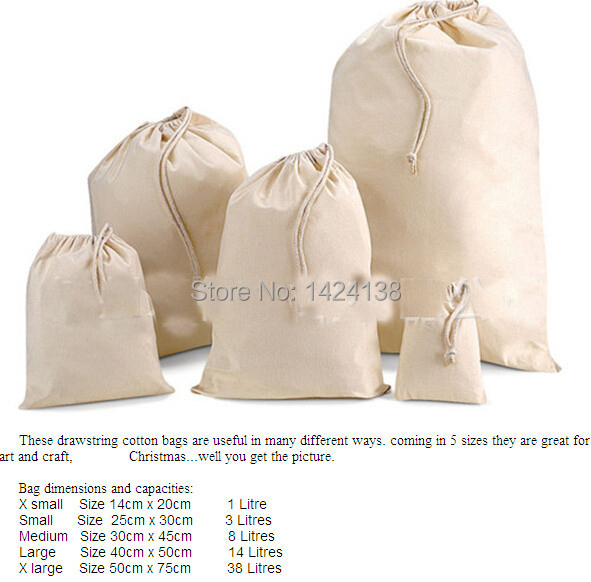 Online Buy Wholesale cotton drawstring bag from China cotton ...