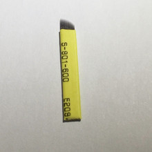 500pcs/lot Permanent Makeup Eyebrow Tattoo Bevel Blades 14 Needles For Manual Eyebrow Tattoo Pen 0.20mm