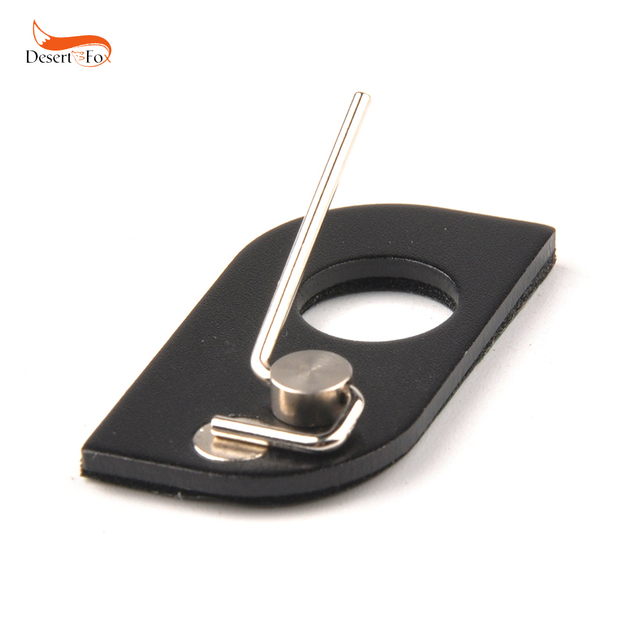 1pc New Black Stainless Steel Arrow Rest Archery RH For Recurve Bow Free Shipping