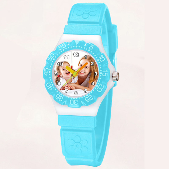 A3331 Dropship Children Rubber Watch Personalized Photo Watch Custom Picture Wat
