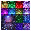 Горячая продажа мини 5 Вт RGB светодиодный вечерние Диско клуб DJ кристалл магический шар эффект сценический вращающийся светильник
