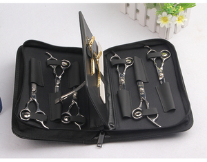Image 2 - Saç tarak kesme kılıf tutucu kılıf ile kemer kuaför kuaförlük alet çantaları profesyonel saç makas çantası