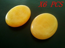 6pcs /set Massage Hot Stones Natural Stone Set Spa Rock Free Shipping