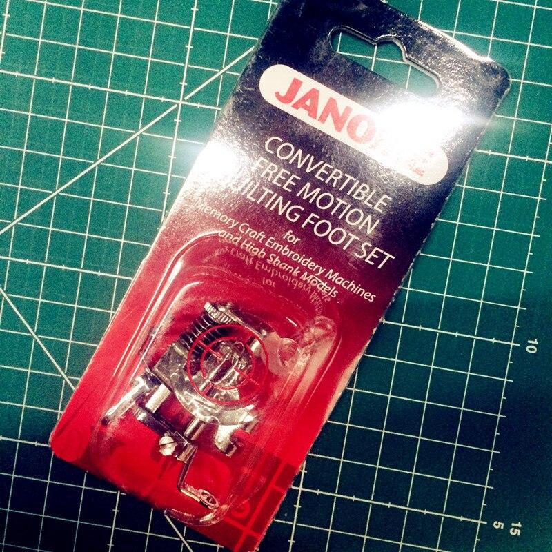 JANOME/MACHINES à coudre domestiques disque presseur de broderie #202001003