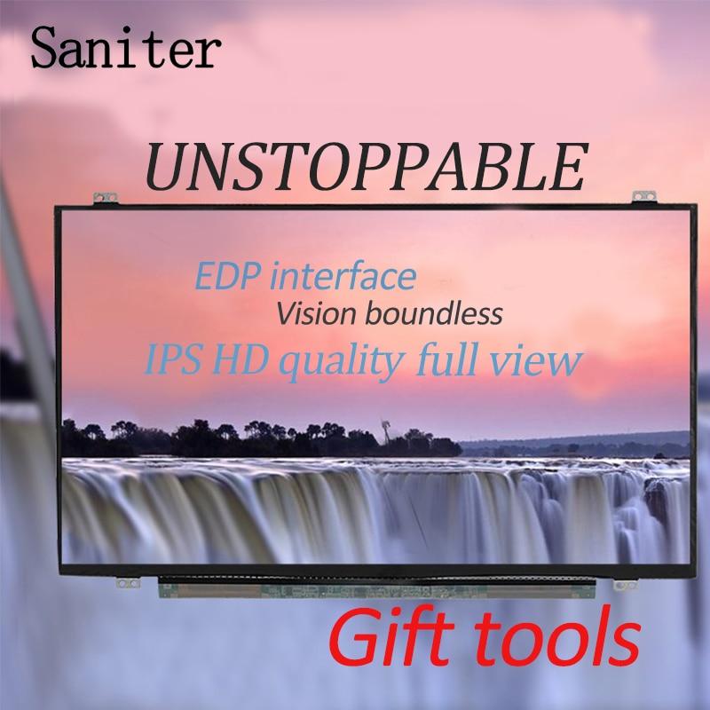 SANITER LTN156FL02 L01 LP156UD1 SPC1 3840*2160 15.6 -inch notebook screen saniter notebook lcd screen nv140fhm n62 n61 n3b lp140wf7 spc1 n140hca eba 14 inch laptop screen