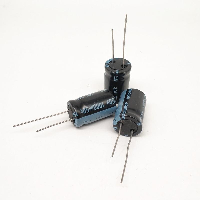 30PCS Radial Electrolytic Capacitor 50V 1UF 5x11mm NEW