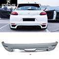 PU Unpainted R Style Car Rear Bumper Lip Diffuser For VW Scirocco Standard Bumper 2009-2014