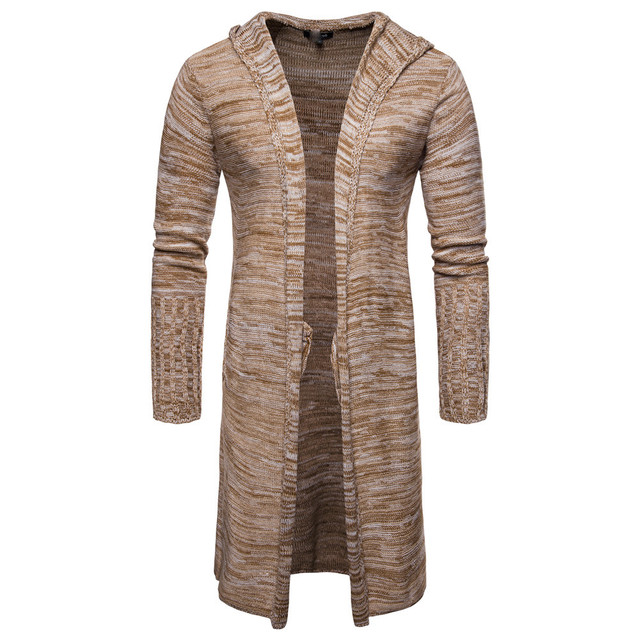 Organic Cotton Men's Long Coat