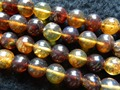 Free shipping (36 beads/set/27g) natural Mexico 11-11.5mm amber loose  beads for jewelry making design