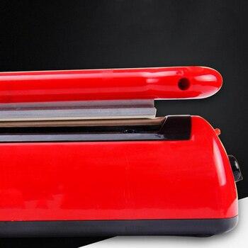 300Mm Impuls Sealmachine Machine Zak Warmte Sealer Capper Handleiding Zak Heat Seal Dichter Voor Plastic Mylar En Granen Zakken Snack F