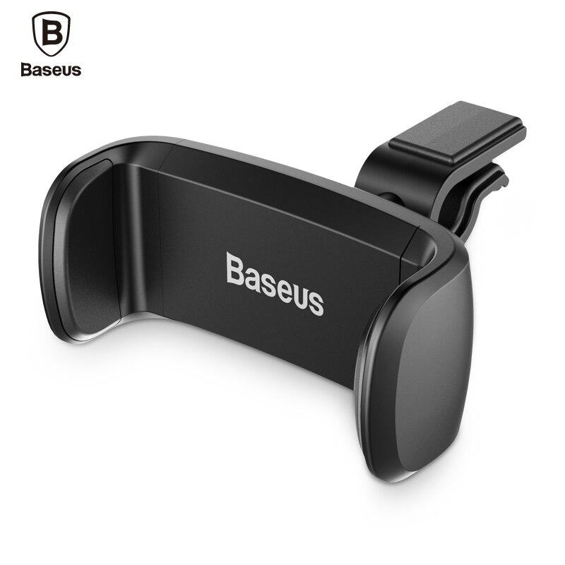 Support pour téléphone de Voiture Baseus pour iPhone 7 6 Support de Voiture téléphone 360 degrés Support pour téléphone portable Support de montage d'évent de Voiture