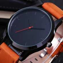 Men's Watches Fashion Leather Quartz Watch Men Casual Sports Watch Male erkek kol saati Wristwatch Hombre Relogio Masculino цена в Москве и Питере