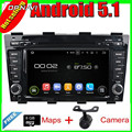 8'' Free Shipping Quad Core Android 5.1 Car Radio GPS For  EC8 2012 With 16GB FLash Mirror Link Multimedia Video  DVD Stereo
