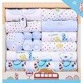 18 pcs conjunto de roupas de inverno infantil roupas de bebê de Algodão roupa do bebê recém-nascido da menina do menino da roupa do bebê pijamas do bebê jogo do presente TZ37