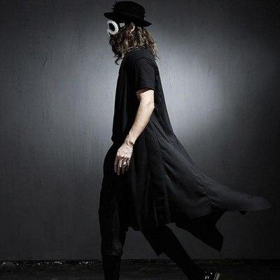 Новая мода 2016 лето Осень Британский стиль Уникальный платок Длинный абзац Жилет мужчин случайные свободные шаль Жилет для мужчин