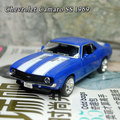 (5pcs/pack) Wholesale Brand New 1/36 Scale Pull Back Car Toys Vintage Chevrolet Camaro SS (1969) Diecast Metal Car Model Toy