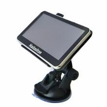 Горячее предложение! Распродажа! 4,3 дюймовый автомобильный gps-навигатор cpu800 MHz+ 128MB ram/8 GB rom+ fm-передатчик+ Бесплатные Последние карты