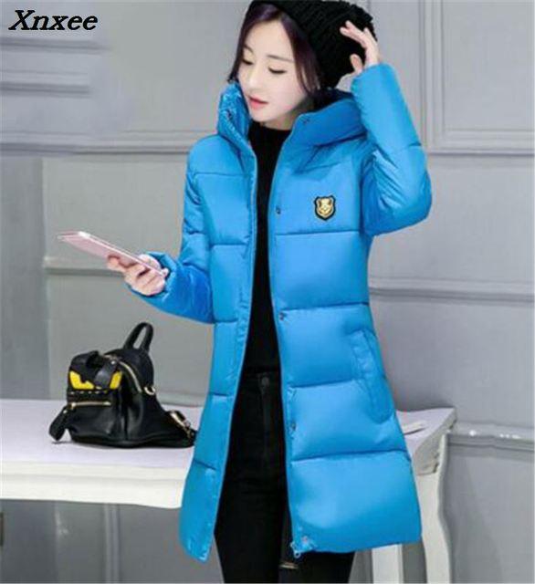 Wadded Jacket Female New Women's Winter Jacket Brand Jackets Slim Parkas Ladies Coat Plus Size Coatscasacos de inverno feminino