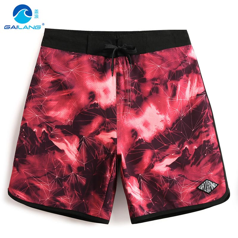 Board shorts Summer men's bathing suit hawaiian bermudas joggers quick dry surfing beach shorts liner plavky swimsuit mesh