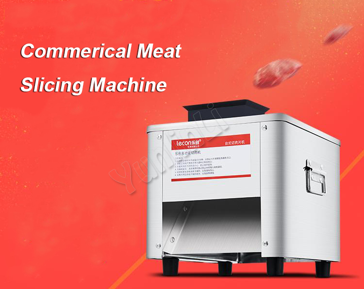 Commercial Electric Meat Slicing Machine Professional Commercial Meat Slicer Automatic Stainless Steel Meat Mincer TJ-85 commercial lemon slicer machine professional fruit slicer machine electric orange slicer automatic fruit cutting machine 220v1pc