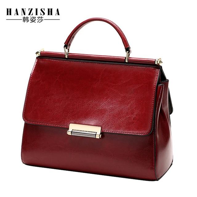 2017 New Brand Fashion Genuine Leather Women Bag Solid Famous Design Natural Leather Women Shoulder Bag Women Handbag sac a main