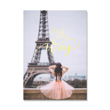 Paris Tower Nordic Poster Love Wall Art Canvas Painting Quadro Pictures For Living Room Picture Cuadros Decoracion Unframed