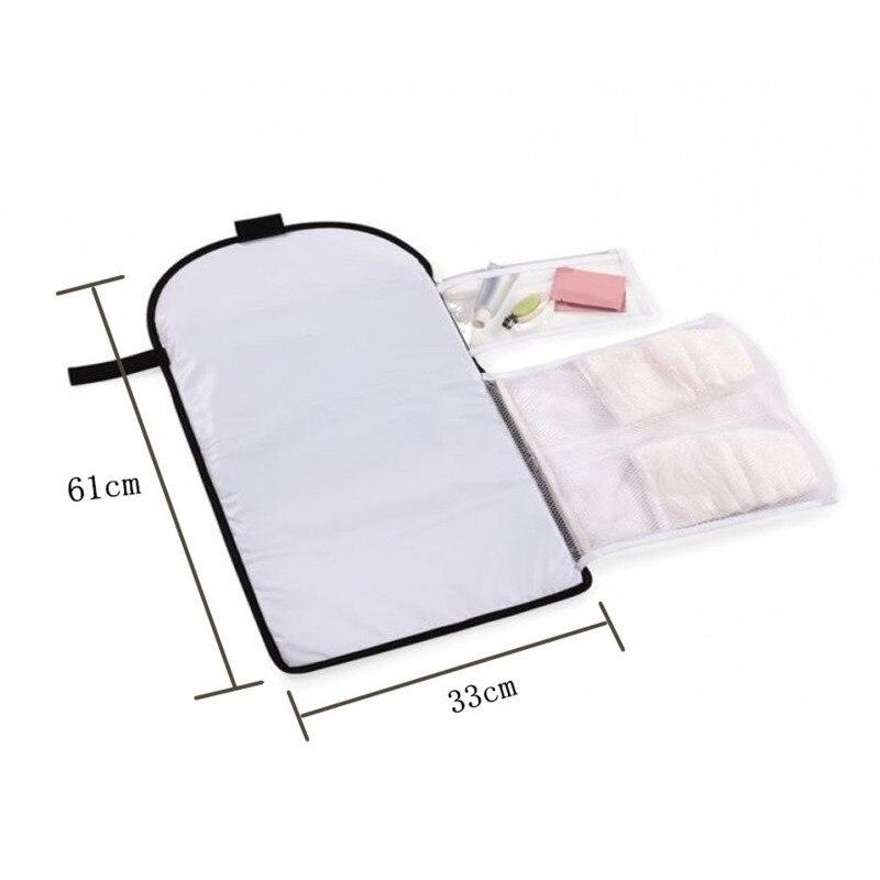 Portable bébé échange urinaire Pad couche étanche commerce extérieur fonds 10-12 7-9 0-3 4-6 mois