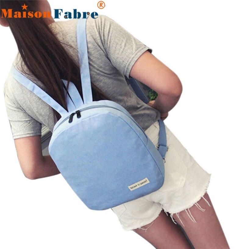Сказочные Холст Рюкзак Цветочные Полосы Школьная Сумка Путешествия Рюкзаки Maison Fabre J25