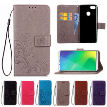 Flip PU Leather Case For OPPO F5 Case Cover Book Wallet Stand Card Slot  Phone Cases For OPPO A73 F5