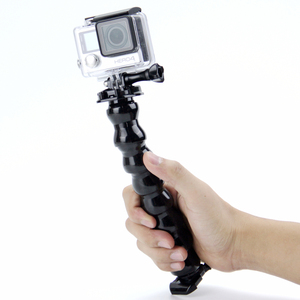 Image 5 - SnowHu accesorios para Go Pro, 7 articulaciones, mordazas, montaje de abrazadera flexible, cuello ajustable para Gopro Hero 9 8 7 6 5 para sjcam para xiaomi GP151A