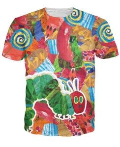 Очень голодная футболка для женщин и мужчин с 3d принтом, Повседневная футболка в стиле хип-хоп Harajuku, модная одежда, Летние Стильные футболки ...