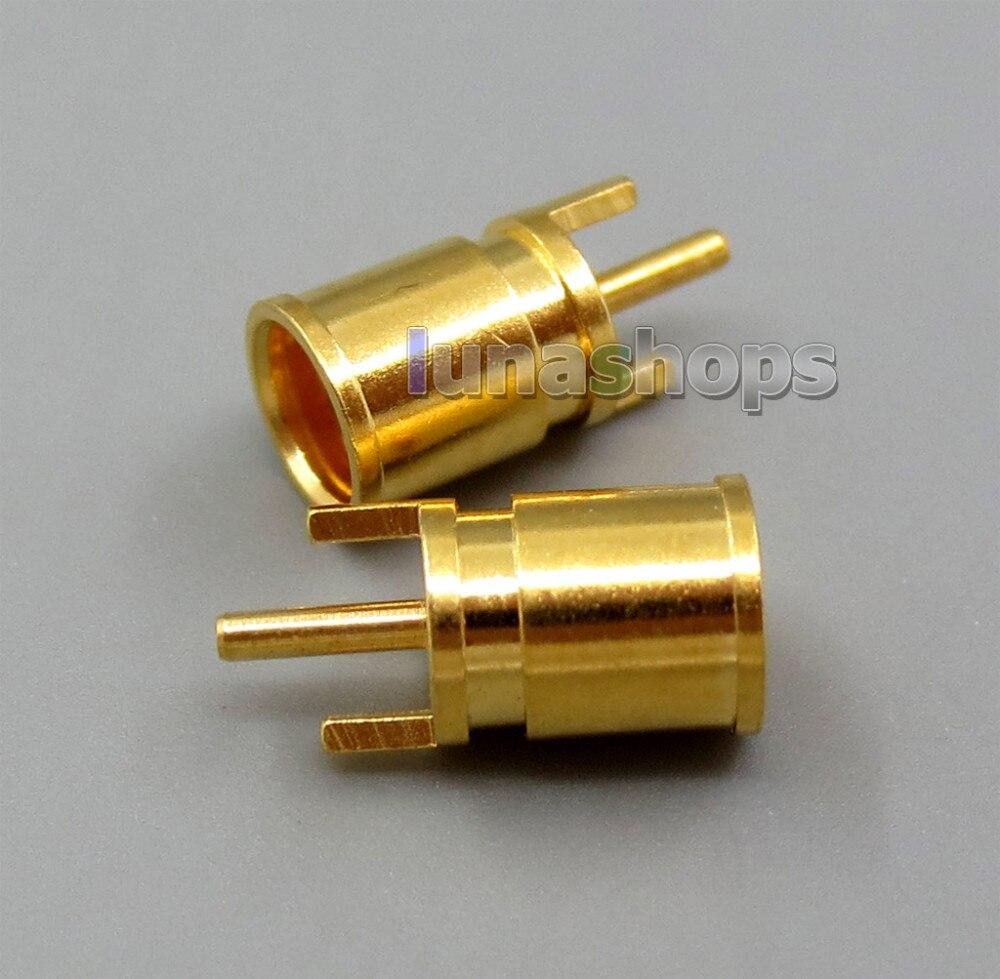 Female MMCX Port Socket Earphone Pins Plug For DIY Custom Shure JH Audio westone 1964 ears UE etc.