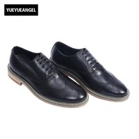 2017 New Arrival Hot Sale Top Quality Mens Lace Up Casual Shoes Male Footwear Round Toe