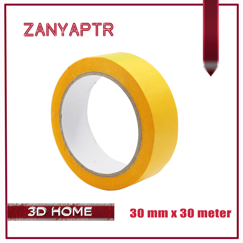 3D Printer Part Masking Tape Paper Tapeer Bot RepRap Mendel I3 Printer 30mm For 3D Printer Hotbed