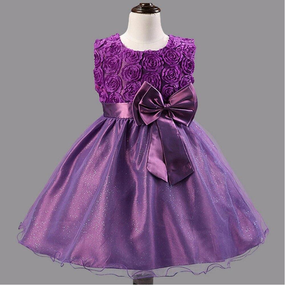 Lujoso Boda De La Caída Vestidos De Flores Niña Motivo - Vestido de ...