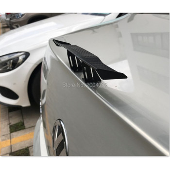 Car Spoiler Wing Small Tail Decoration Sticker Accessories for bmw f10 e46 e90 e60 e92 mercedes audi a5 vauxhall insignia seat image