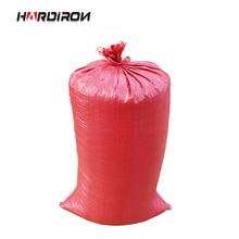 HARDIRON 10PCS Multiple Sizes Thick Red Grain Plastic Woven Bag Logistics Express Package Snake Skin