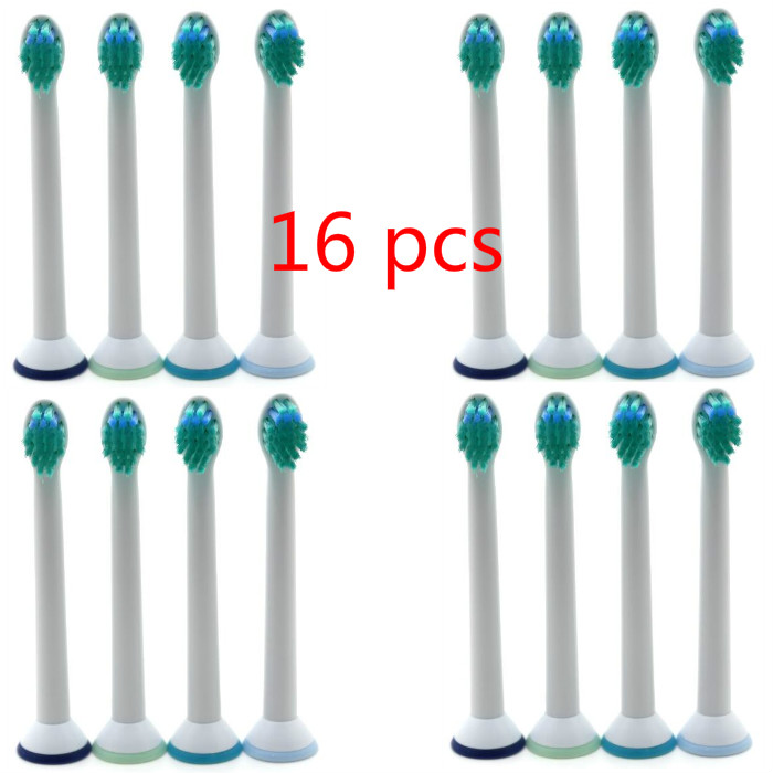 16 pcs Electric Toothbrush Replacement Brush Heads For Philips Sonicare DiamondClean FlexCare HX6064 HX6930 HX9340 HX6950 HX6710 image